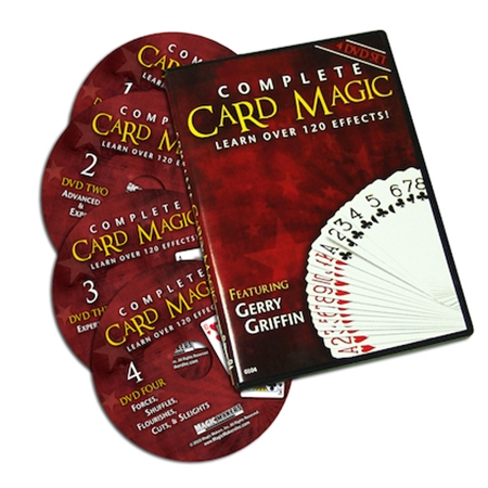 Complete Card Magic – 4 DVD Set