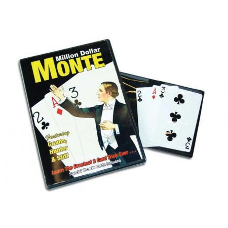 Million Dollar Monte with Bicycle Cards